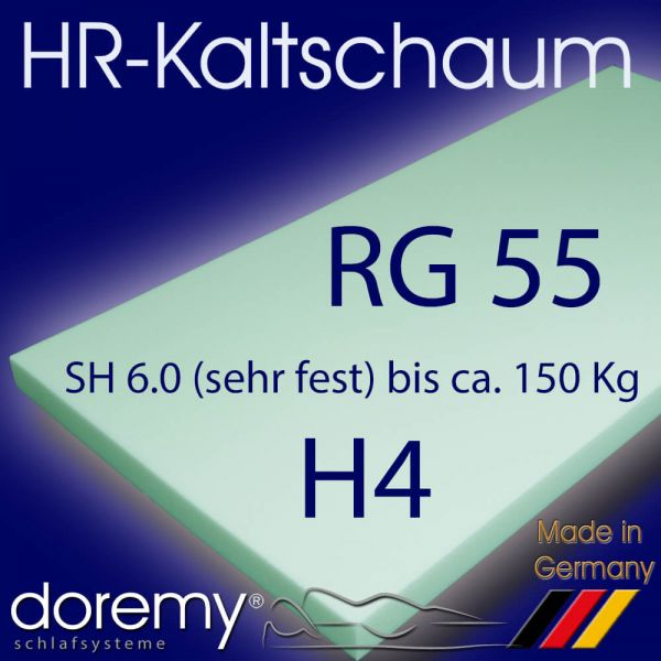 HR-Kaltschaum RG55 SH6,0 - H4