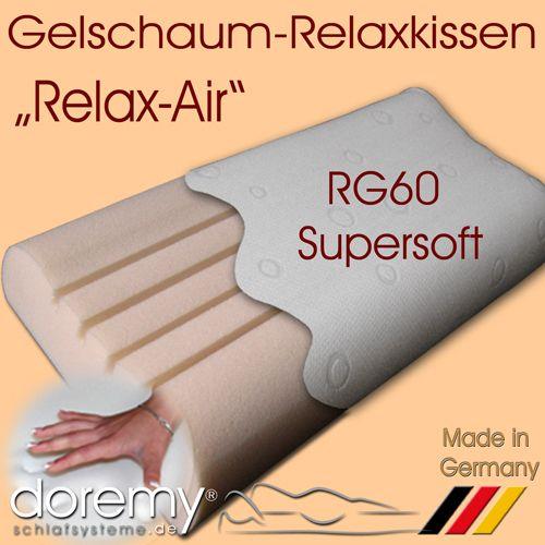 Gelschaum Kissen - Relaxkissen
