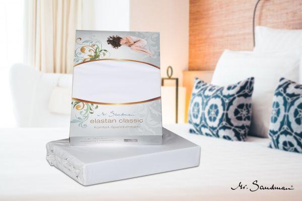 Spannbetttuch für Matratzen, Elastan Classic