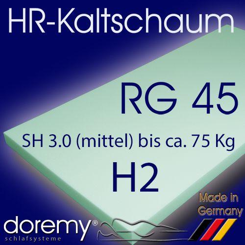 HR-Kaltschaum RG45 / H2