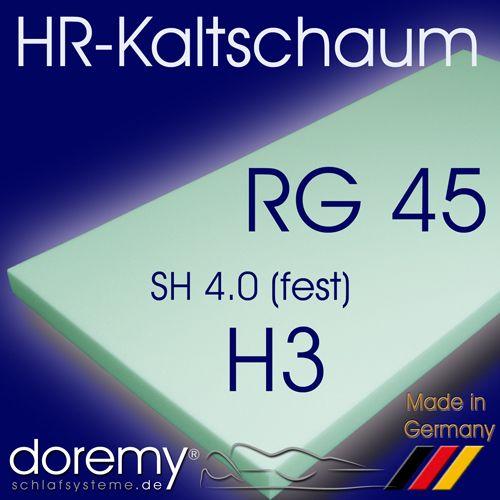 HR-Kaltschaum RG45 / H3
