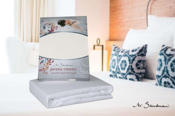 Spannbetttuch für Matratzen, Jersey Classic